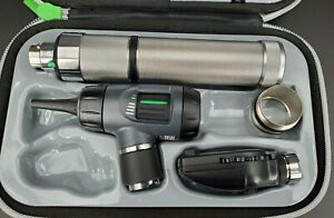 Welch Allyn Macroview Otoscope Diagnostic Set Ophthalmoscope Plugin Handle Led