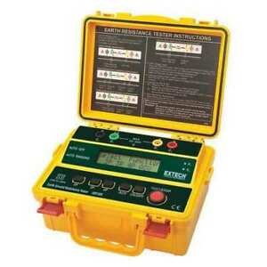 Extech Grt300 Earth Ground Tester 820 Hz 0 To 300vac