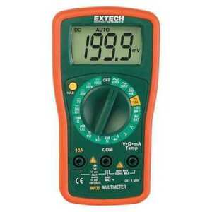 Extech Mn35 Digital Multimeter 600v 20 Mohms
