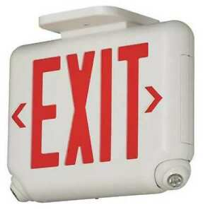 Hubbell Lighting Dual lite Evcurwd4 Hubbell Lighting Duallite Exit Sign