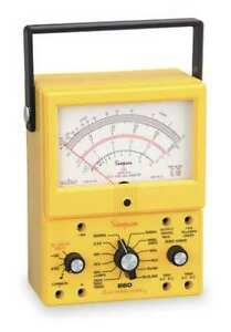 Simpson Electric 260 8xpi Analog Multimeter 1000v 10a 20m Ohms
