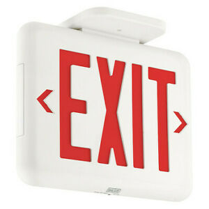 Hubbell Lighting Dual lite Eveurwe Hubbell Lighting Duallite Exit Sign