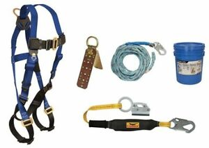 Condor 45j298 Roofer s Fall Protection Kit Size Universal