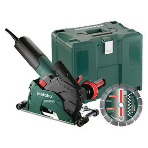 Metabo T 13 125 Ced Set Grinder Masonry 4 1 2 5 9600 Rpm 12a