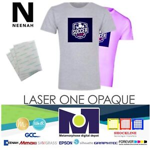 Heat Transfer Paper Laser 1 Opaque Dark Shirt Heat Press Machine 8 5 x11 50 Pk