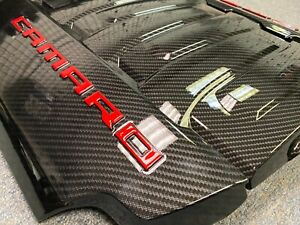 2016 2019 Camaro Ss Zl1 Carbon Fiber Engine Cover Set With Coil Covers
