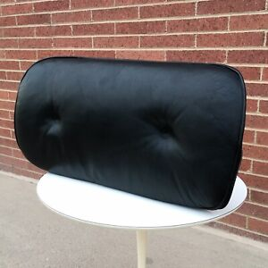 Vtg Early 1st Gen Charles Eames Herman Miller Lounge Chair Leather Cushion 2