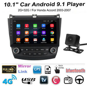 10 1 Car Stereo Radio Gps Mp5 Player Android For Honda Accord 2003 2007 Ma2097