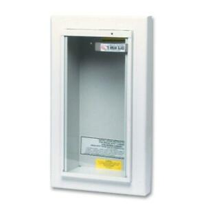 Semi recessed 5 Lbs Fire Extinguisher Cabinet