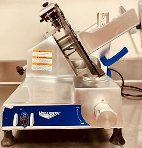Vollrath Commercial 12 Deli Slicer Electric Meat Cheese Food 40904 Slr7012 n