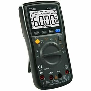Tougs M202 True rms Auto ranging Digital Multimeter Electricians Tester With Rel