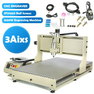 Usb 3 Axis Cnc 6090 Router Engraver Machine Carving drilling milling Woodworking