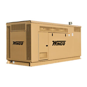 Winco Pss90 4 Liquid Cooled 90kw Ng lp 120 208v 3ph Standby Generator 99974 271