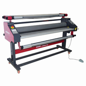 63 Pneumatic Full auto Wide Format Cold Laminator With Heat Assisted