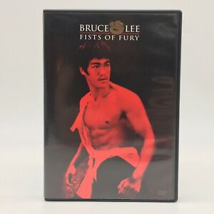 Fists of Fury DVD 2001 Bruce Lee Master Collection Widescreen w Insert $4.85