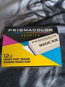Prismacolor 73201 Magic Rub Vinyl Drafting Erasers 12 count New In Box