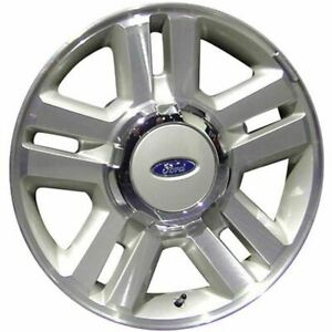 04 08 Ford F150 18 X 7 5 Factory Oem 5 Split Spoke Machined Tan Wheel Rim 3559