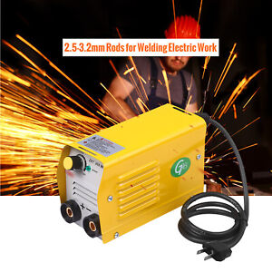 Mini Welding Machine Dc Electric Inverter Arc Mma Stick Weld er 110v 200a G4v1