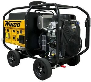 Winco Wl22000ve 19kw Running 120 240v 1 Phase Portable Generator Anderson Plugs