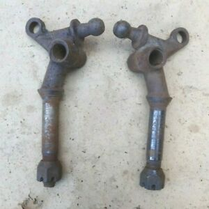 1928 1931 Model A Ford Front Spring Perches Original Pair 1929 1930