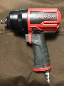Snap On Pt850 1 2 Drive Air Impact Wrench Red