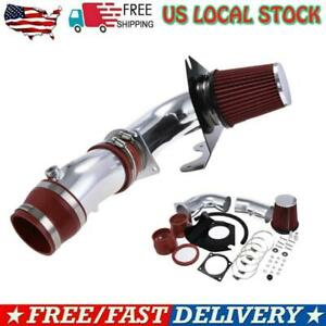 Cold Air Intake Kit Red Filter For Ford Mustang 1994 1995 5 0l V8 94 95