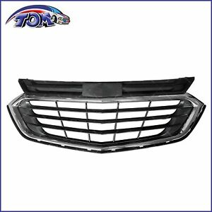 Front Upper Grille Chrome Fits 2018 2019 2020 Chevrolet Equinox