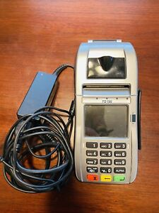 First Data Fd150 Terminal Emv Nfc Used For 2 Months Mint Condition