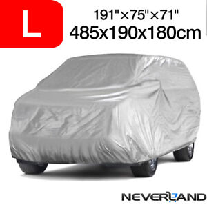 Large Polyester Full Suv Car Cover Indoor Breathable Dust Resistant Uv Protector