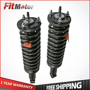 Driver Passenger Front Complete Struts Shocks For Toyota Tacoma 4wd 1995 2004