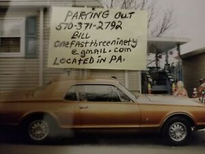1967 Mercury Cougar Auto Parts And Accessories