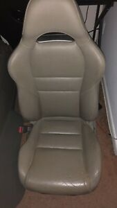 Acura Rsx Type s Oem Titanium Leather Front Seats 2002 2006 Good Condition