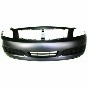 Front Bumper For 2007 08 Infiniti G35 Sedan W O Technology Pkg Exc Sport Model