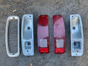 1966 1977 Ford Bronco Tail Light Buckets And Lenses