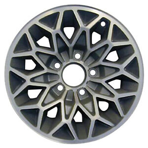 15x7 Snowflake Refurbished Pontiac Aluminum Wheel Silver Machined 01213
