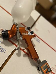 Devilbiss Tekna Copper Spray Gun Compare To Sata Iwata Binks