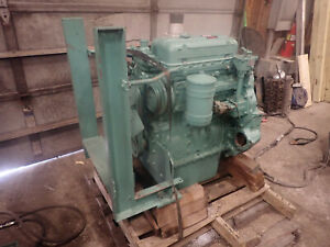Detroit Diesel 3 53 Engine Rebuilt Rh Exhaust Blower 353 Skidder Forklift