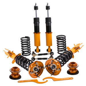 Full Coilovers Kits For Ford Mustang 2005 2014 Adjustable Height Mounts Struts