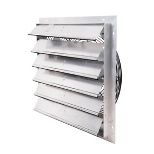 Exhaust Fan Wall Mounted Shutter Adjustable Variable Speed Durability Fan