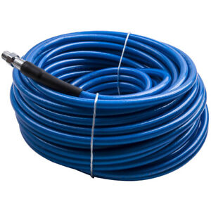 Truckmount Machine Carpet Upholstery Cleaning Solution Hose 100 Ft W Qd s