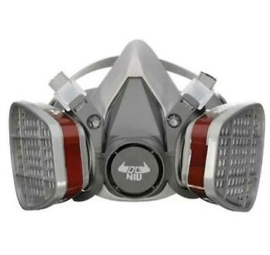 Gas Mask Respirator Half Face Cover Paint Spraying Chemical Comprehensive Mask