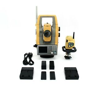 Topcon Ps 103a 3 Robotic Total Station Kit W Rc 5 Remote Controller