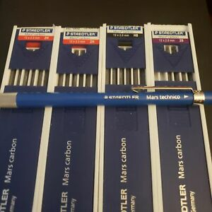 Staedtler Mars 780 C Mechanical Pencil And Carbon Lead Bundle 2h Hb
