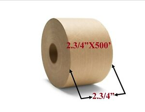 Brown Paper Tape 2 3 4 X 500 Reinforced Packaging Packing Tape