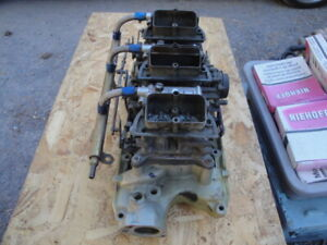 Ford Small Block 289 Tri Power Oem Ford Carburetors Set Up Was A Daily Driver