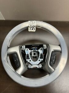 2007 2014 Gm Steering Wheel Black W wood Trim Oem New