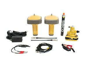 Topcon Dual Gr 5 Uhf Ii Base Rover Gps gnss Receiver Kit