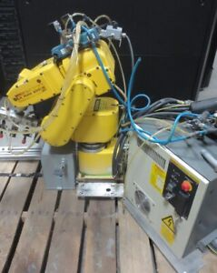Fanuc Lr Mate 200ib 5p Industrial Robot With Rj3ib Controller And Teach Pendant