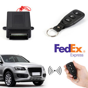 Car Remote Control Central Kit Door Locking Keyless Entry Universal System Us