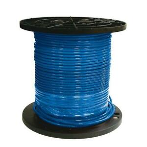 Southwire Thhn Wire 500 Ft 8 gauge Stranded Cu Simpull Blue Single Conductor